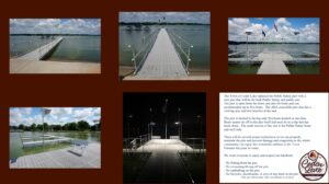 New Public Pier and Safety Rules